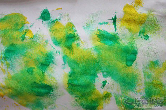 十三幅颜料画作品