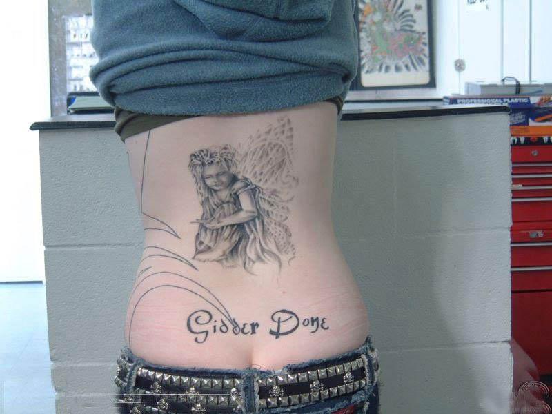 女人私密纹身 风光及其他